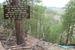 Lovers Leap Trail - hiking in Custer State Park