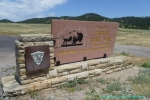 Custer State Park Entrance Sign