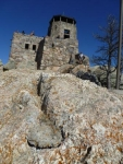 Harney Peak Fire Lookout Tower