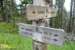 Harney Peak Trail Sign